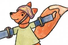Fox Roller Skater